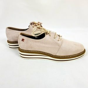 REFRESH DERBY SHOES WITH TASSLES ON LACES